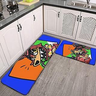 Fnaf Endstone OC Tapis de cuisine antidérapant confortable pour cuisine, sol, maison, bureau, évier, buanderie