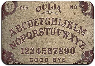 Ouija Board Soft Comfort Flannel Indoor Mats Rugs,Anti-Skid Multi-Use Doormat Super Absorbent Washroom Mat Toilet,Kitchen Floor Mats Washable Home Decor Carpets