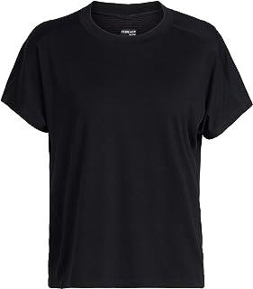 Icebreaker Womens Merino Cool-Lite™ Kinetica Short Sleeve CreweTop Black