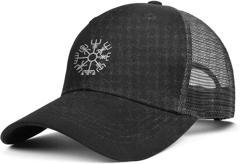 WOWorldgoods Baseball Cap Adjustable Snapback Mesh Trucker Dad Hat Black for Men Women