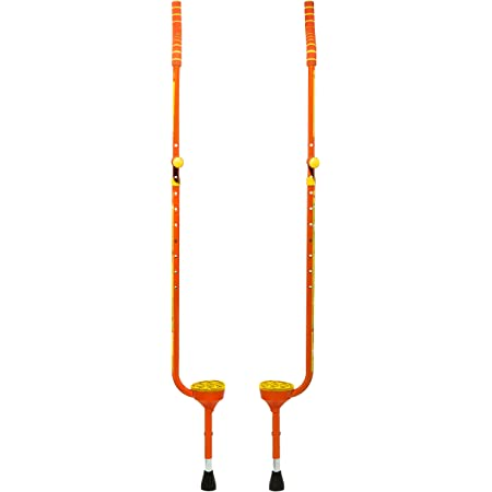 Flybar Master Walking Stilts (Large), Adjustable Height – for Ages 10 & Up, Up to 200 Lbs