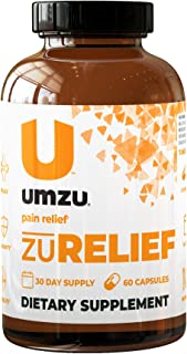 Sponsored Ad - UMZU: zuRelief (Formerly Total Relief) 30-Day Supply - Joint Support - Natural Source of Antioxidants - Vit...