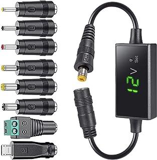 SoulBay DC Buck Converter 12V-24V DC to DC 12v 11V 9V 7.5V 6V 5V 4.5V 3V Step Down Convert 2A Power, 5.5mm Female, LED Dis...