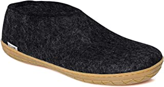 Glerups Unisex Ladies/Gents AR 100% Natural Wool Shoe with Rubber Sole