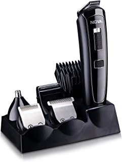 Nova All in One Head to Toe Digital Display Multi Grooming Kit (Black)