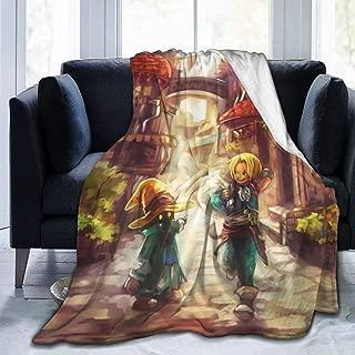NanZYang Fleece Blanket Final Fantasy IX Vivi Ornitier Cozy Bed Linen Microfiber Lightweight Super Soft Luxury Sofa Warm Yoga Mats Blankets Throw Size 50x40 60x50 80x60 Inch