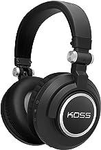 Koss BT540i Full Size Bluetooth Headphones, Black with Silver Trim