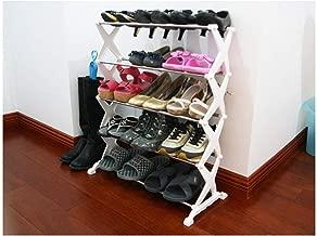 Berry Foldable Multipurpose 5 Layer Shoe Rack (White)