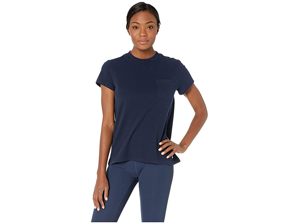Fjallraven Greenland Re-Cotton T-Shirt Short Sleeve (Dark Navy) Women