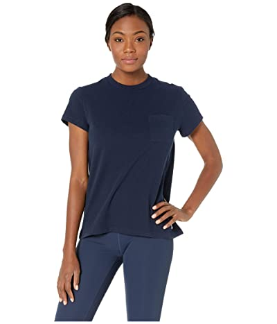 Fjallraven Greenland Re-Cotton T-Shirt Short Sleeve (Dark Navy) Women