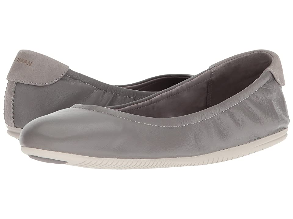 Cole Haan Studiogrand Convertible Ballet Core (Ironstone Leather/Vapor Grey) Women