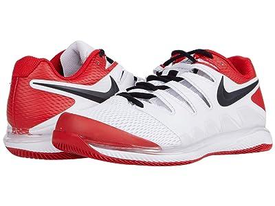 Nike Air Zoom Vapor X (White/Black/University Red) Men