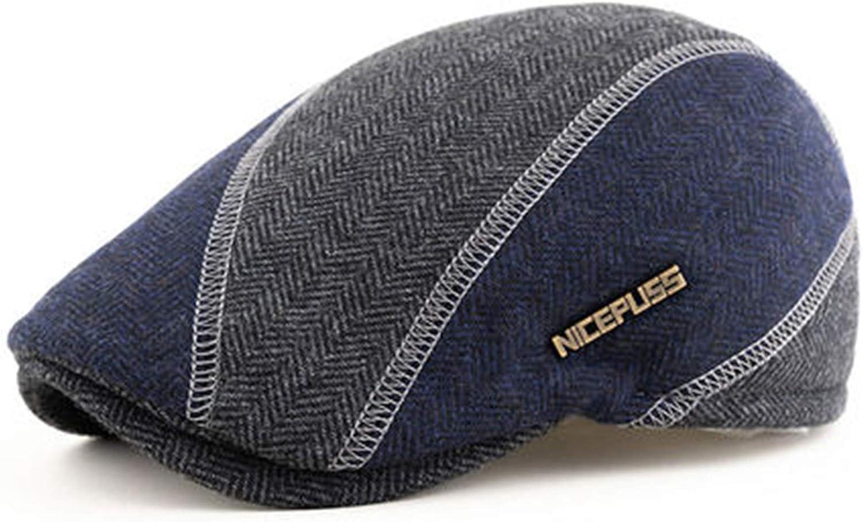 NEW before selling Flat Cap Mens NEW Classic Newsboy Beret Duc Hat Adjustable