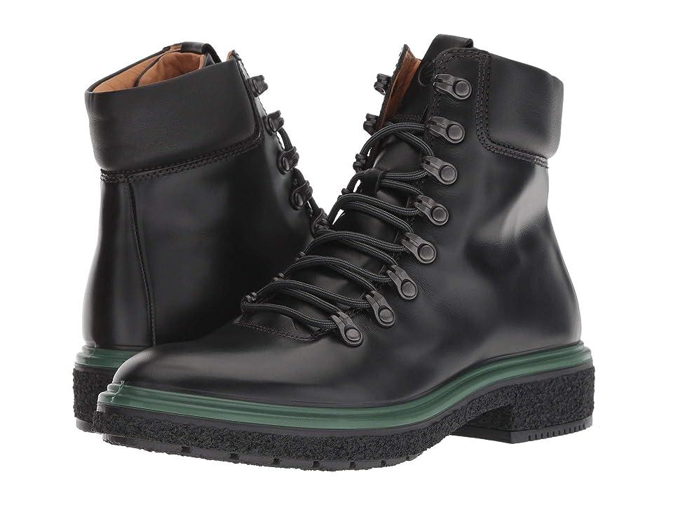 ECCO Crepetray Boot (Black Calf Leather) Women