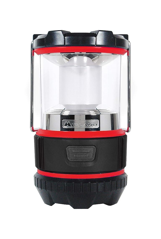 アロングシャトルサラミMIDLAND 高輝度 LED ランタン CREE LED使用 2モード切替 軽量 電池式 防災 アウトドア