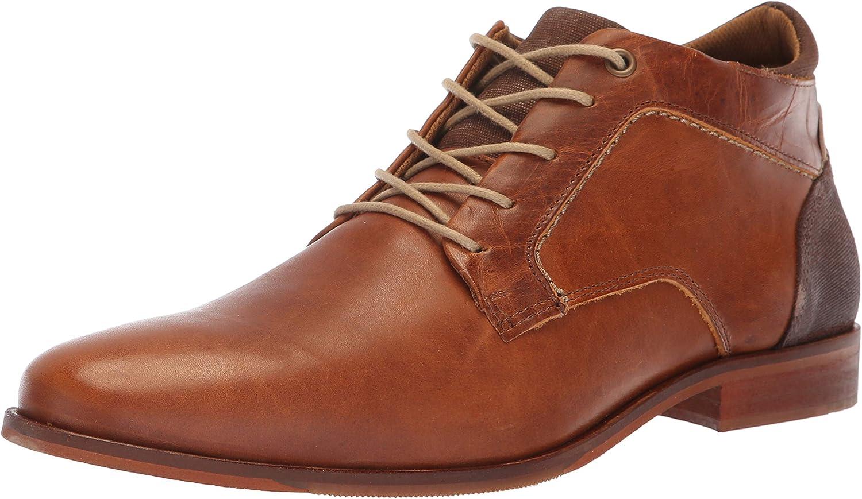 ALDO Men's ELIRESSI Ankle Boot, Cognac, 7.5 D US