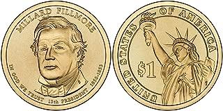 2010 P&D Millard Fillmore Presidential Dollar Set