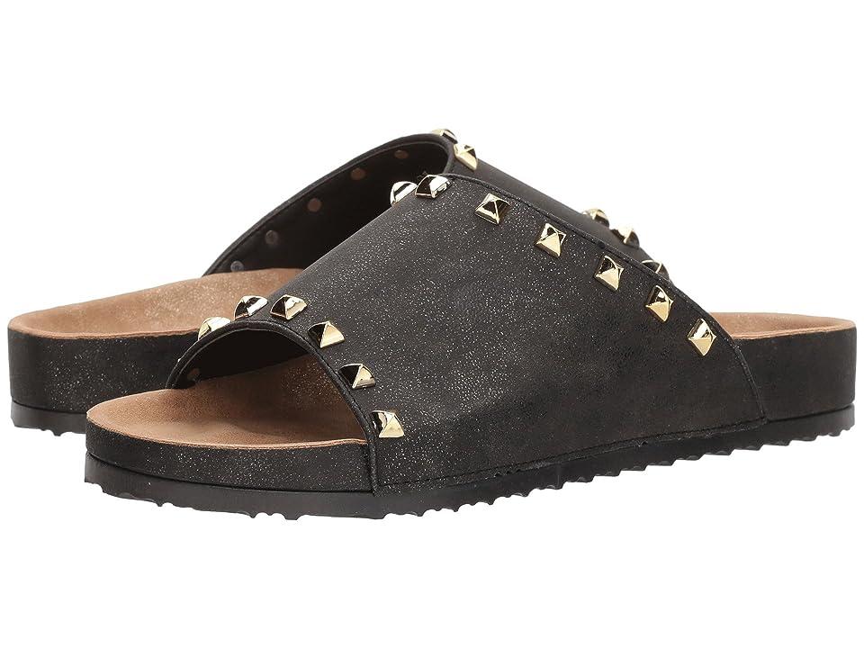 Dirty Laundry Qiana Slide Sandal (Charcoal Shimmer) Women
