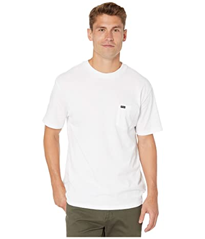 RVCA Day Shift Label Short Sleeve (White) Men