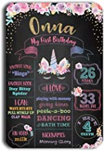 Best first birthday sign Reviews