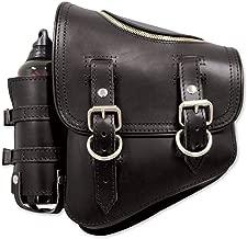 LaRosa Design Black Solo Side Zipper Bag with Fuel Bottle SSBBL03ZBH