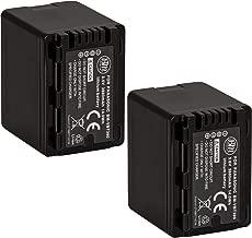 BM Premium 2 VW-VBT380 Batteries for Panasonic HC-V800K, HC-VX1K, HC-WXF1K, HCV510, HCV520, HC-V550, HCV710, HC-V720, HC-V750, HC-V770, HC-VX870, HC-VX981, HCW580, HC-W850, HC-WXF991 Camcorder