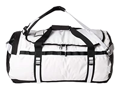 The North Face Base Camp Duffel Large (TNF White/TNF Black) Duffel Bags