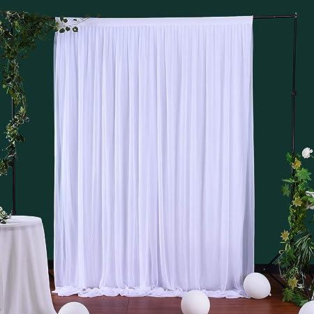 Weißer Tüll Vorhang Für Partys Hochzeiten Babypartys Kamera