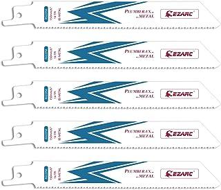 EZARC Reciprocating Saw Blade Metal Cutting 150mm 14TPI R622PM (5-Pack)