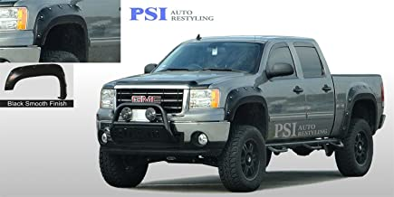 A8020914B Pocket Bolt Style Fender Flares Textured Finish Fits 03-06 Toyota Tundra; For 98.2 and 74.3 Fleetside; Not Fit Crew Cab Models; Not Compatible w//Flareside Models 74.7 76.5 76.1