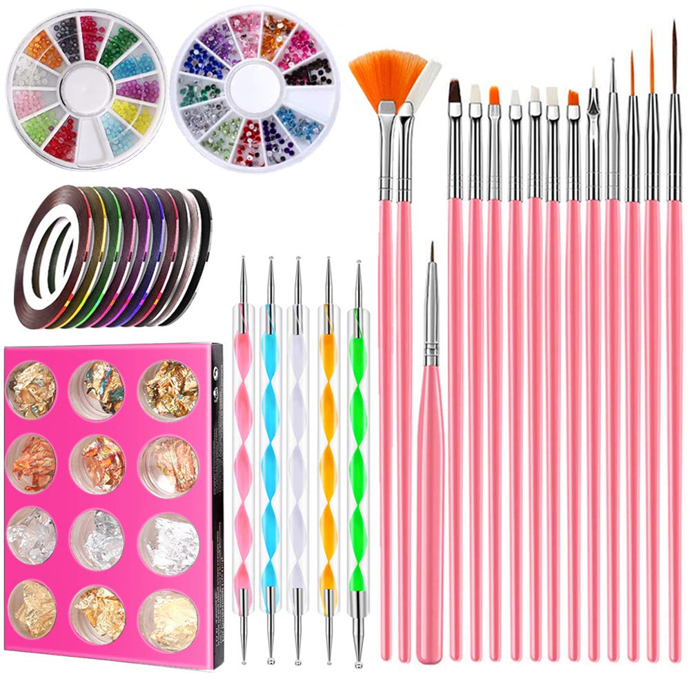 Nail Art Brushes Set Free shipping with Special price 15 Painting Acrylic pcs D Drawing