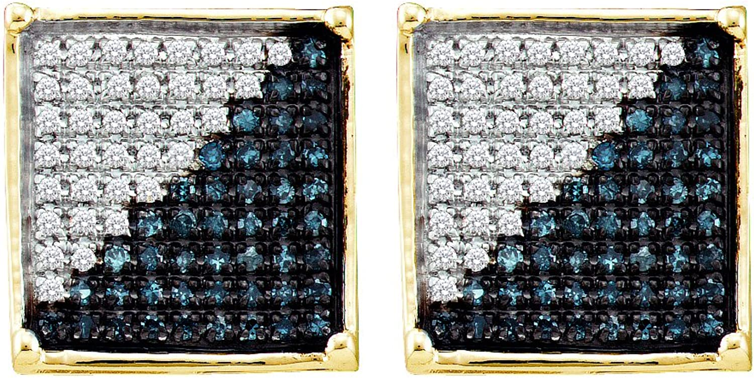 1 6 Total Carat Weight DIAMOND MICRO PAVE EARRING