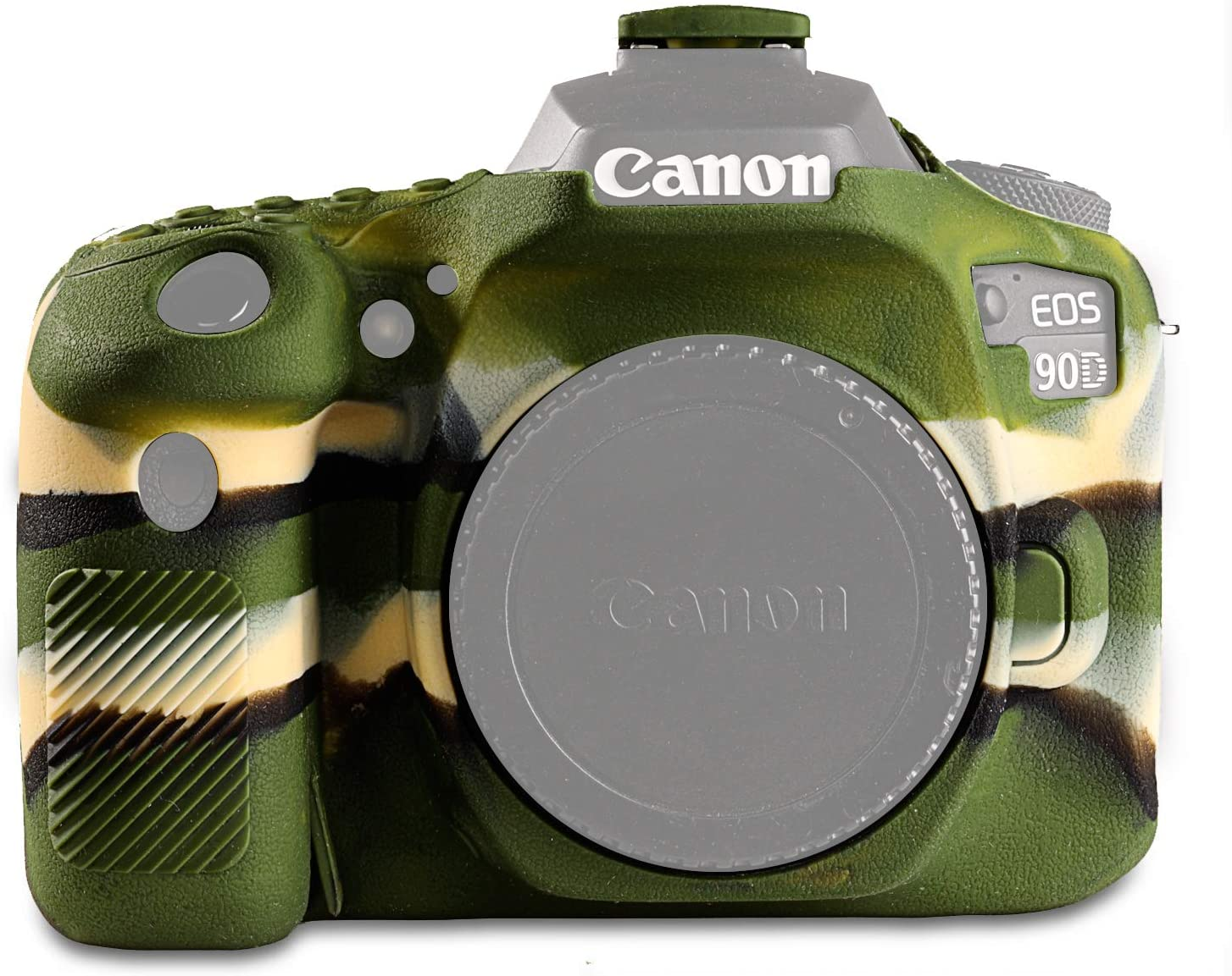 STSEETOP Canon National products 90D Max 56% OFF Case Silicone Rubber Camera Professional