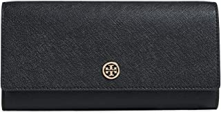 Tory Burch Leather Wallet - Navy 15 X 9 X 1 .5 cm, 46630