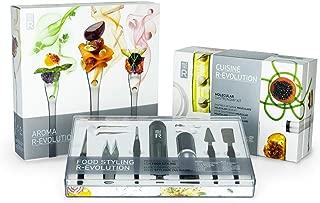 Molecule-R – Triple Skill Molecular Gastronomy Set – Molecular Recipes, Food Styling & Volatile Flavoring