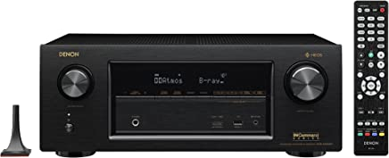 Denon AVRX3400H 7.2 Channel Full 4K Ultra HD Network AV Receiver with HEOS black, Works with Alexa (Discontinued by Manufacturer)