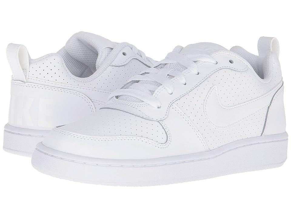 Nike Court Borough Low (White/White/White) Women