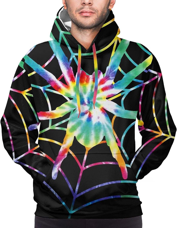 Hoodie For Teens Boys Girls Colorful Animal Web Hoodies Outdoor Sports Sweater