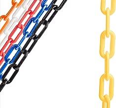 US Weight ChainBoss 2-Inch Plastic Chain – 10 Feet – Yellow