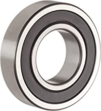 The General 1641 2RS Extra Light Inch Series Ball Bearing, Double Sealed, No Snap Ring, Inch, 1