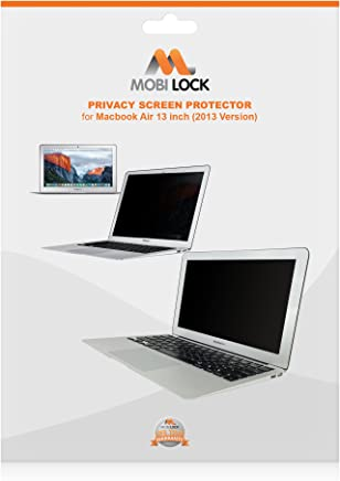 Mobi Lock Privacy Screen Protector | Compatible with 13 Inch MacBook Air | Blocks Prying Eyes from Seeing Your Screen from The Sides & Durable