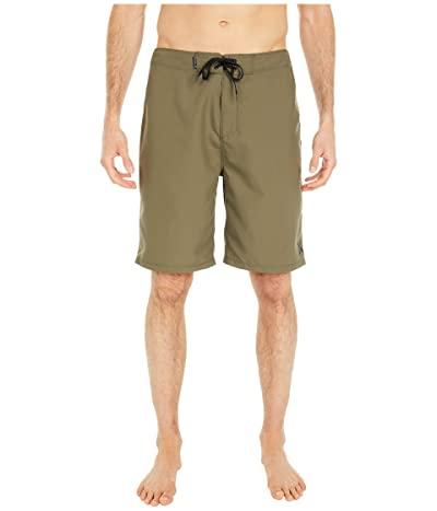 Hurley One Only 2.0 21 Boardshorts (Medium Olive) Men