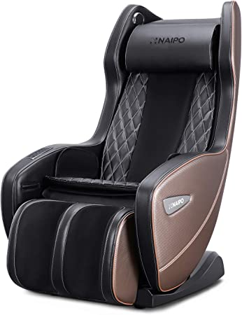 Naipo Massage Chair Electric Reclining Massage Chairs for Office and Home Use, Various Massage Programs & Upgraded Massage Techniques, Bluetooth Speakers, Space-Saving Relax Massager Chair