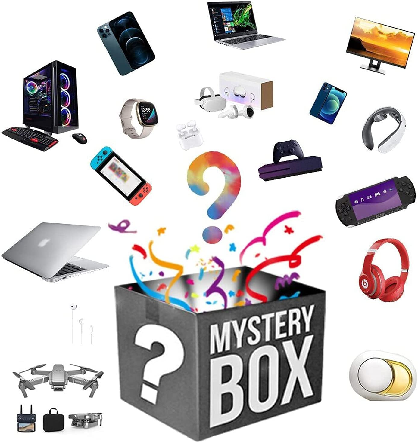 Overseas All stores are sold parallel import regular item Mystery Lucky Box Boxes Electronic Mysteries