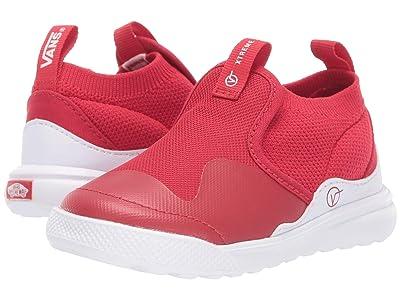 Vans Kids Xtremeranger (Infant/Toddler) (Racing Red/True White) Kids Shoes