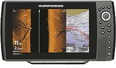 Humminbird 410120-1 Helix 10 Chirp Mega Si GPS G2N Fishing Charts & Maps