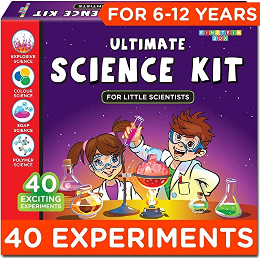 Einstein Box Science Experiment Kit | Chemistry Kit |Soap Making Kit | Toys for Boys and Girls Aged 6-12 Years | Birthday Gift Set for Girls & Boys... 1