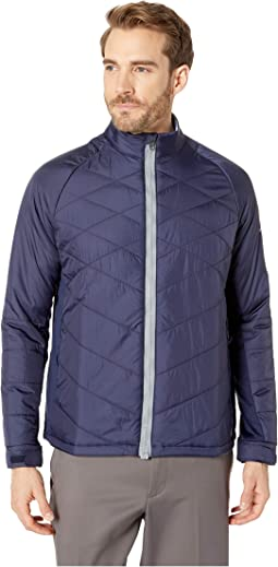 Easy-Zip Full Zip Puffer Jacket