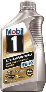 Mobil 1 98KE65 5W-30 Extended Performance Synthetic Motor Oil - 1 Quart
