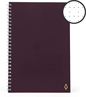 Rocketbook One Single-Use Smart Notebook - 140 Dot-Grid Pages, Upload Easily to Cloud Services - Executive Size (6